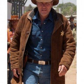 Robert Taylor Longmire Suede Leather Coat
