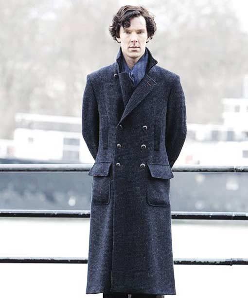 Benedict Cumberbatch Sherlock Holmes Long Coat