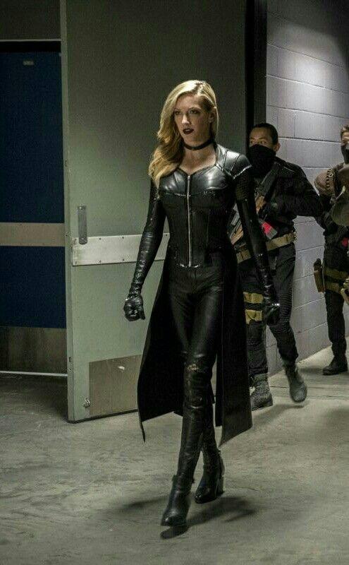 Arrow TV Series Siren Black Jacket