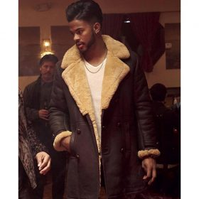 Trevor Jackson SuperFly Brown Trench Coat