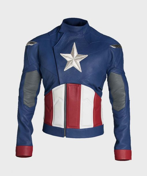 Captain America The Avengers Leather Jacket