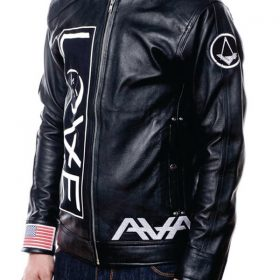 Angels And Airwaves Tom Delonge Black Leather Jacket