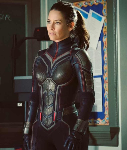 Ant-Man And The Wasp Evangeline Lilly Leather Jacket