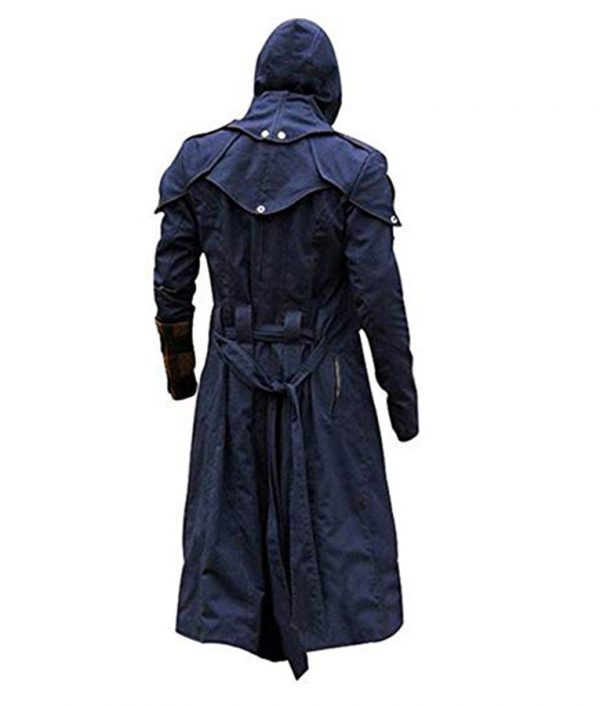 Assassins Creed Unity Video Game Arno Blue Coat