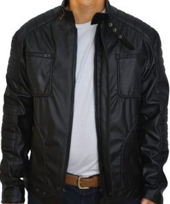 Malcolm Merlyn Arrow TV Series Leather Jacket