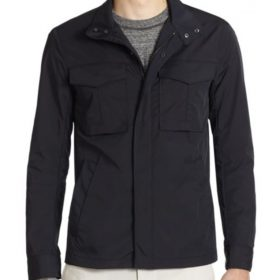 Oliver Queen Arrow Black Cotton Jacket