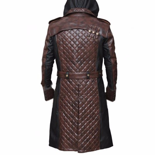Assassins Creed Syndicate Video Game Jacob Frye Trench Coat