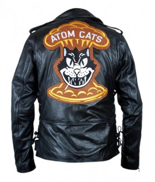 Fallout 4 Video Game Atom Cat Black Jacket