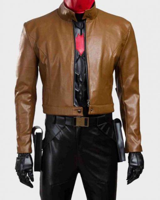 Jason Todd Batman Under The Red Hood Cropped Jacket