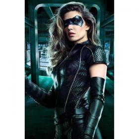 Arrow Season 6 Black Canary Black Jacket