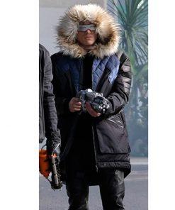 Crisis On Earth Captain Cold Parka Coat