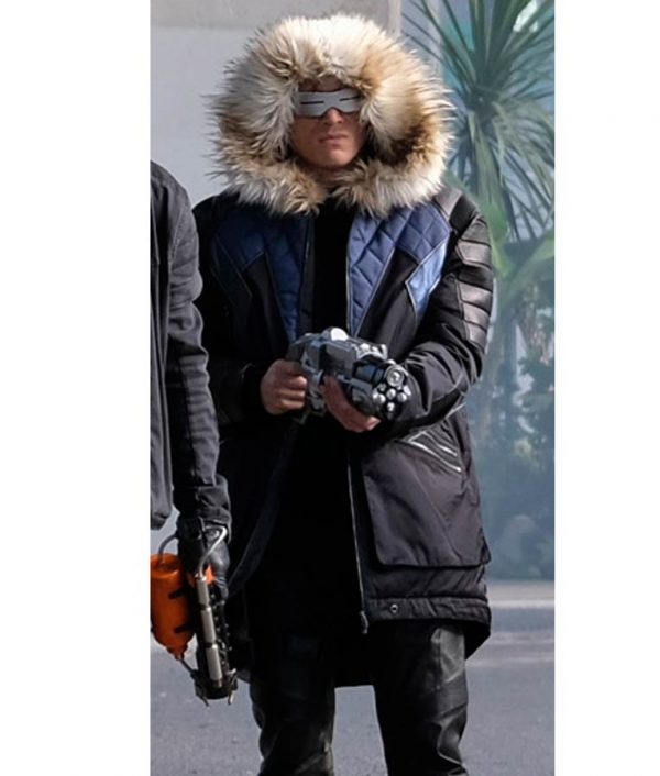Crisis On Earth Captain Cold Parka Coat