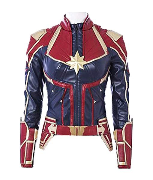 Captain Marvel Leather Jacket