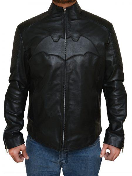 Bruce Wayne Batman Begins Black Jacket