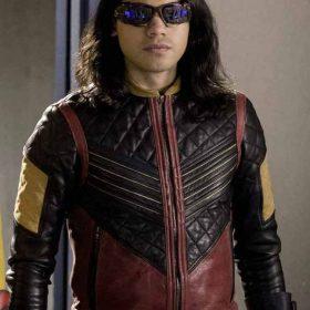 The Flash Carlos Valdes Vide Jacket