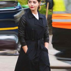 Doctor Who TV Series Clara Oswald Double Breasted Coat