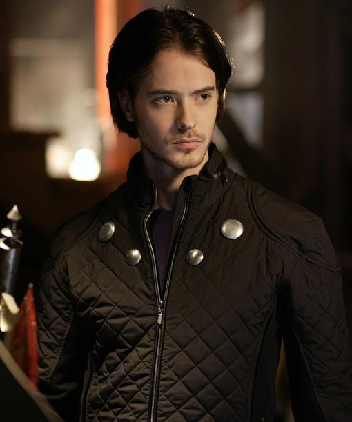 Smallville Cosmic Boy Quilted Black Jacket