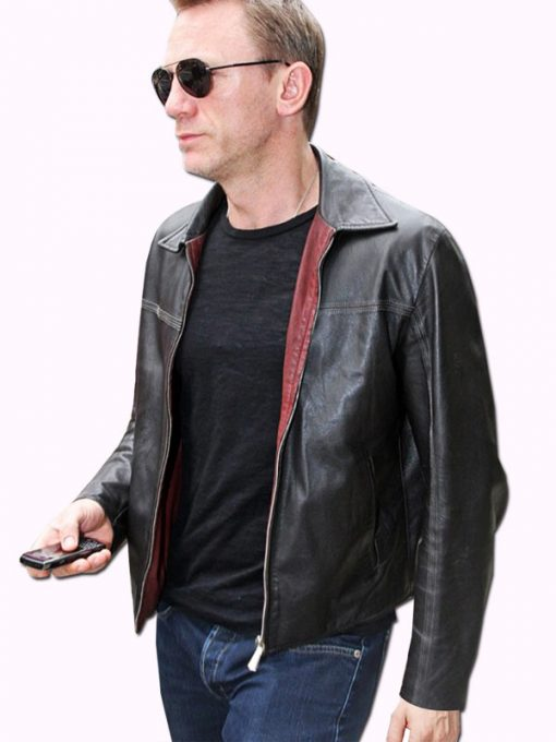 Layer Cake Daniel Craig Black Jacket