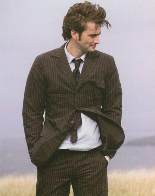 Doctor Who TV Series David Tennant Brown Suit