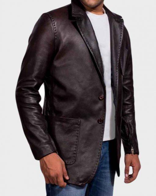 Jason Statham Brown Deckard Shaw Fast And Furious 7 Blazer Jacket