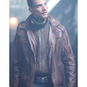 Jeff Ward Agents Of Shield TV Series Leather Jacket