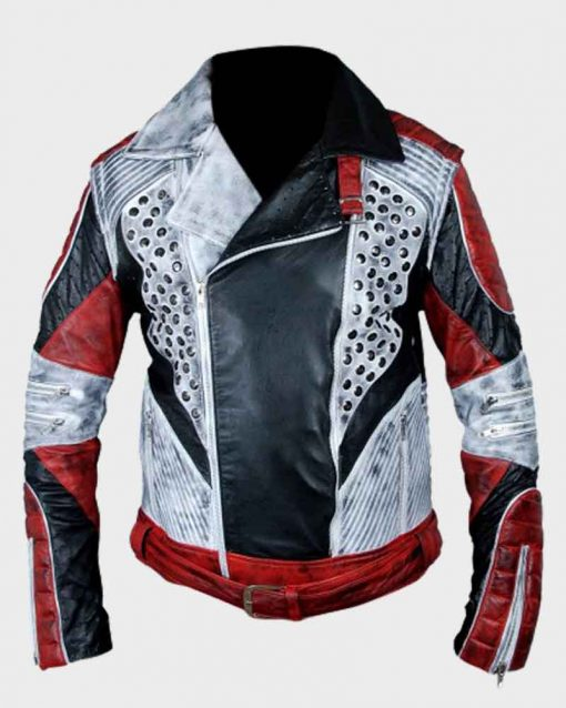 Descendants 2 Carlos Leather Jacket With Removable Sleeves