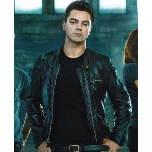Dino Brewster Need For Speed Black Leather Jacket