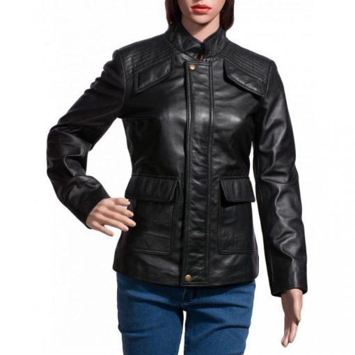 Divergent Beatrice Prior Black Leather Jacket