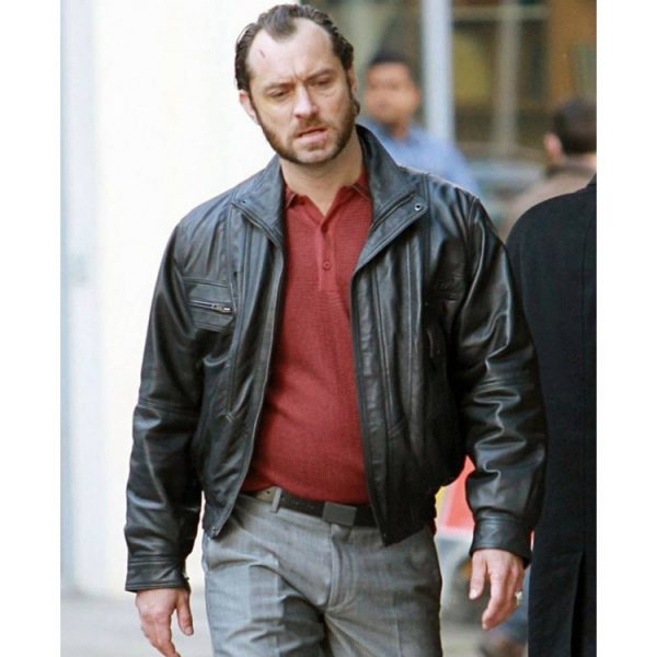Dom Hemingway Jude Law Black Jacket