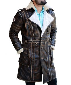 Elder Maxson Fallout 4 Video Game Leather Coat