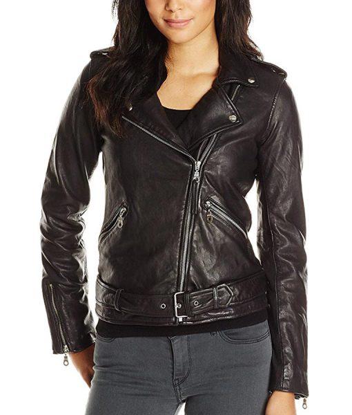 Jennifer Morrison Once Upon A Time Biker Style Jacket