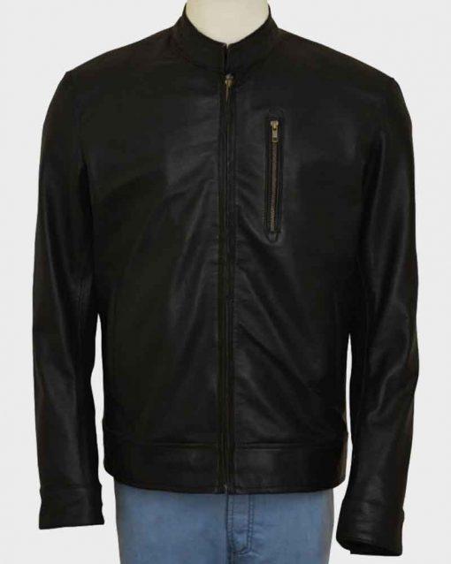 Tom Cruise Black Leather Jack Reacher Never Go Back Jacket