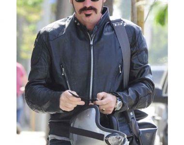 Jane Ewan McGregor Got A Gun Motorcycle Jacket