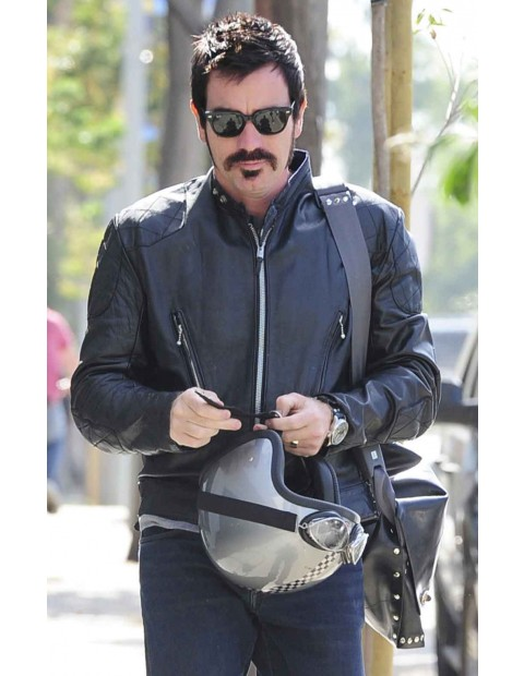 Jane Ewan McGregor Got A Gun Motorcycle Jacket