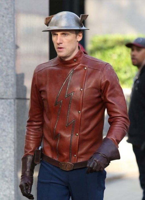 The Flash TV Series Jay Garrick Brown Jacket