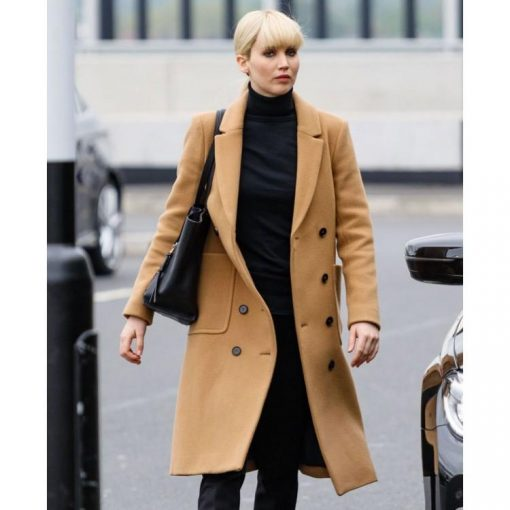 Red Sparrow Jennifer Lawrence Coat