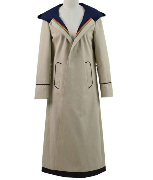 Doctor Who TV Series Jodie Whttaker Rainbow Coat