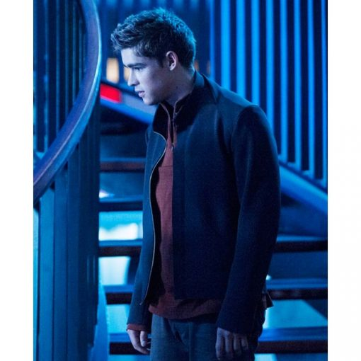 The Giver Jonas Black Cotton Jacket