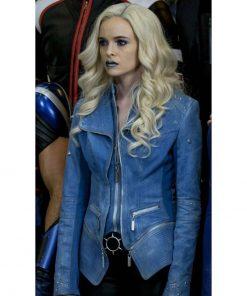 Caitlin Snow Flash Season 4 Denim Jacket