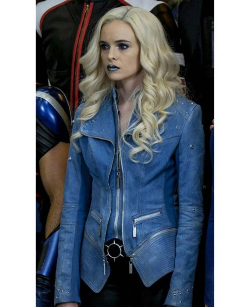 Caitlin Snow Flash Season 4 Denim Jacket