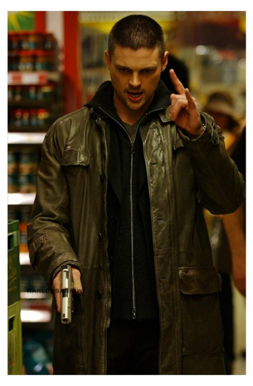 Kirill Bourne Supremacy Trench Coat
