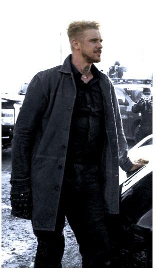 Donald Pierce Logan Leather Jacket