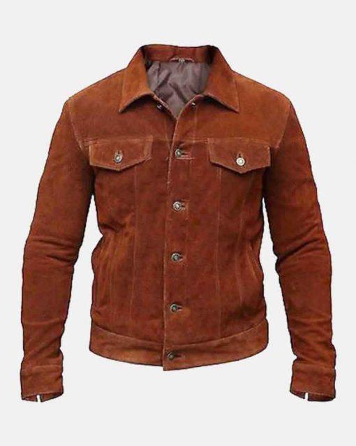 Hugh Jackman Logan Suede Jacket