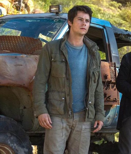 Dylan O'brien Maze Runner The Death Cure Jacket