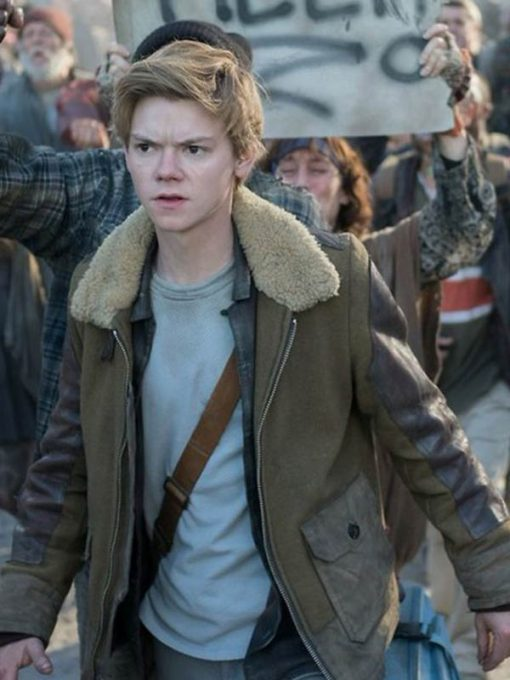 Newt Maze Runner the Death Cure Wool Jacket