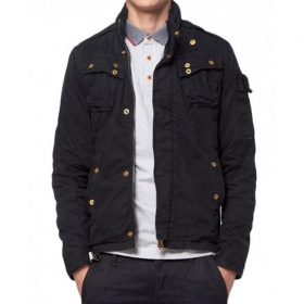 Fast And Furious 6 Owen Shaw Black Jacket