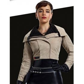 Emilia Clarke A Star Wars Story Leather Jacket