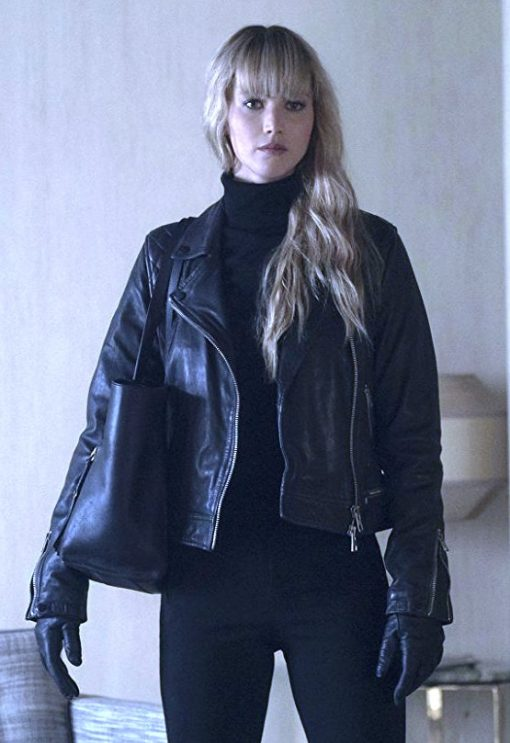Jennifer Lawrence Red Sparrow Jacket