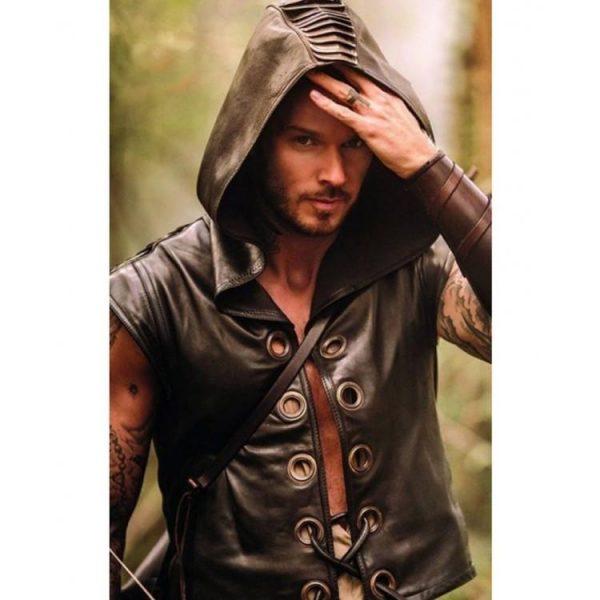 Robin des Bois la véritable histoire Black Hooded Vest
