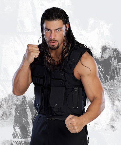 Roman Reigns WWE Black Vest